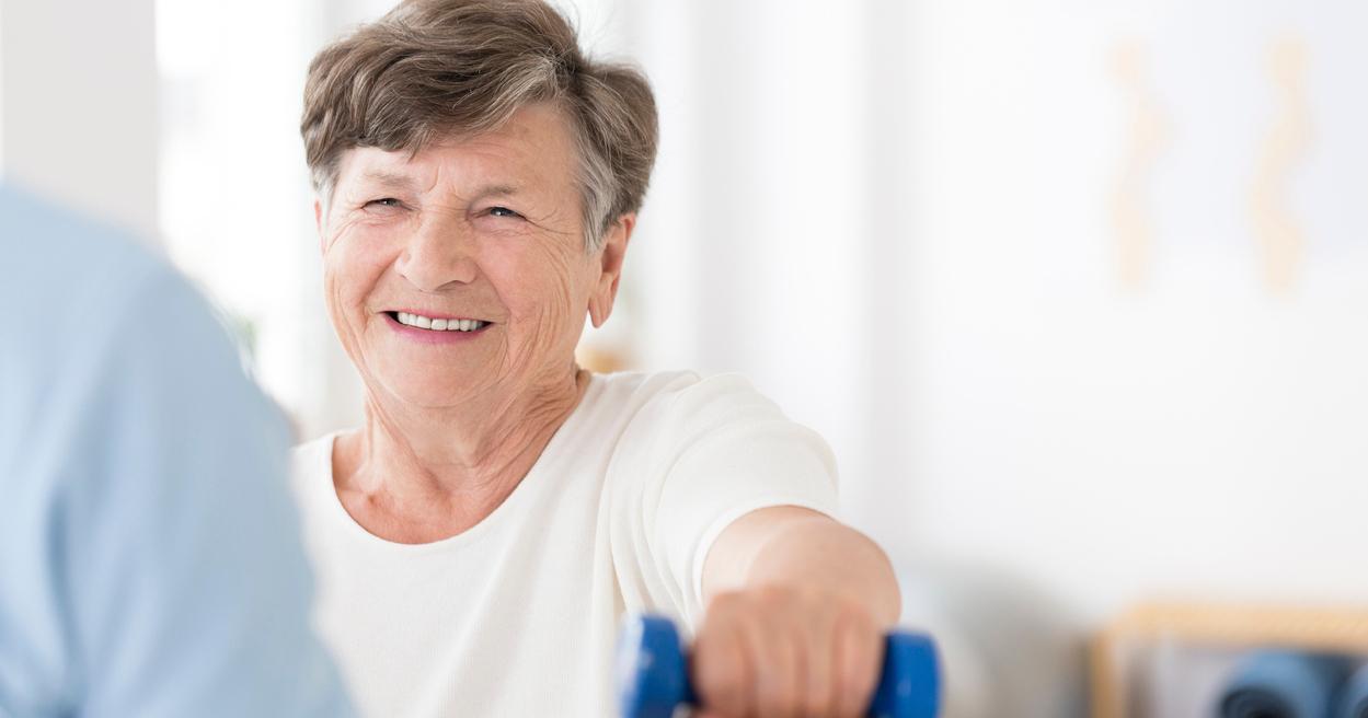Fysiotherapie na een beroerte